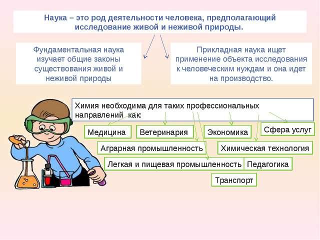 Наука – это род деятельности человека, предполагающий исследование живой и не...