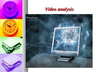 Video analysis