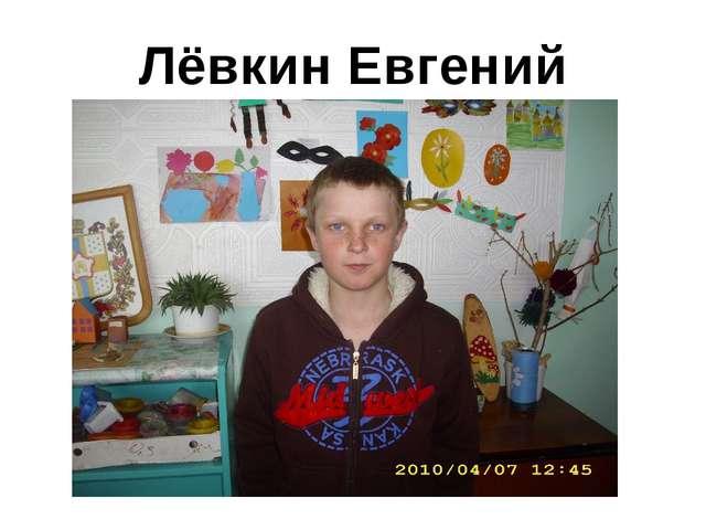 Лёвкин Евгений