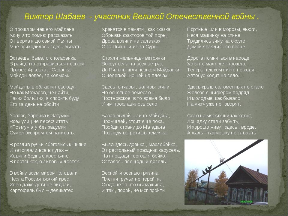 Виктор Шабаев - участник Великой Отечественной войны . О прошлом нашего Майд...