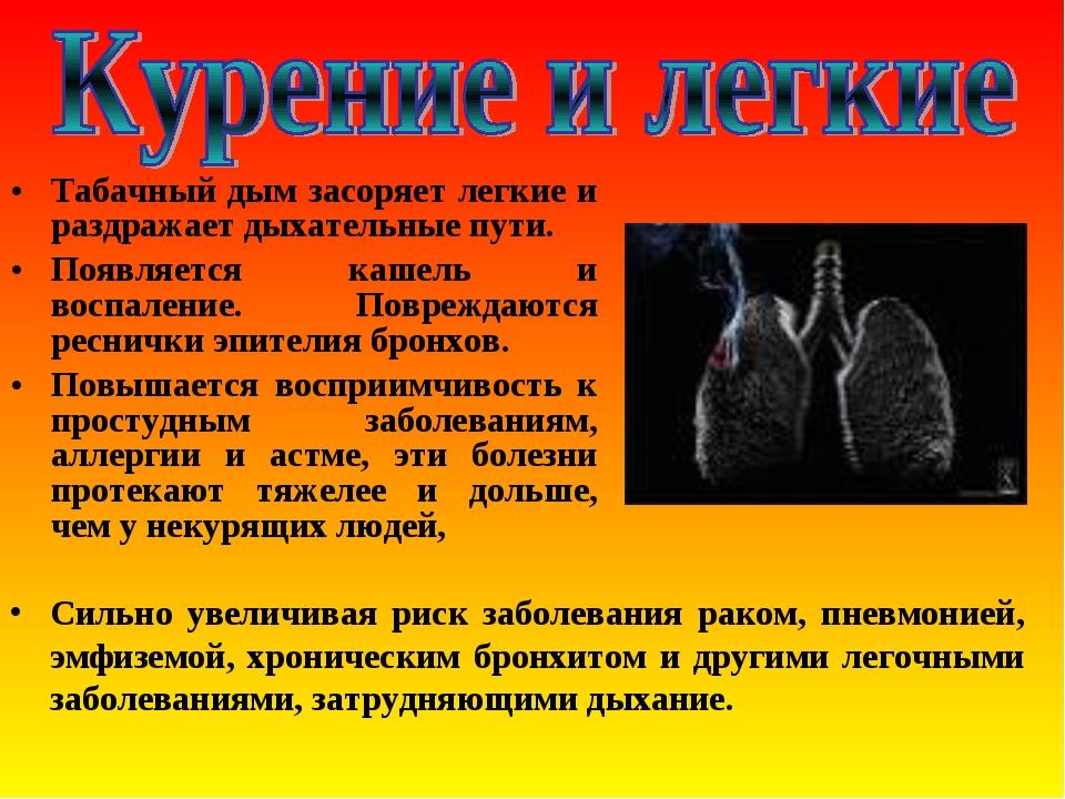 Появился кашель от курения