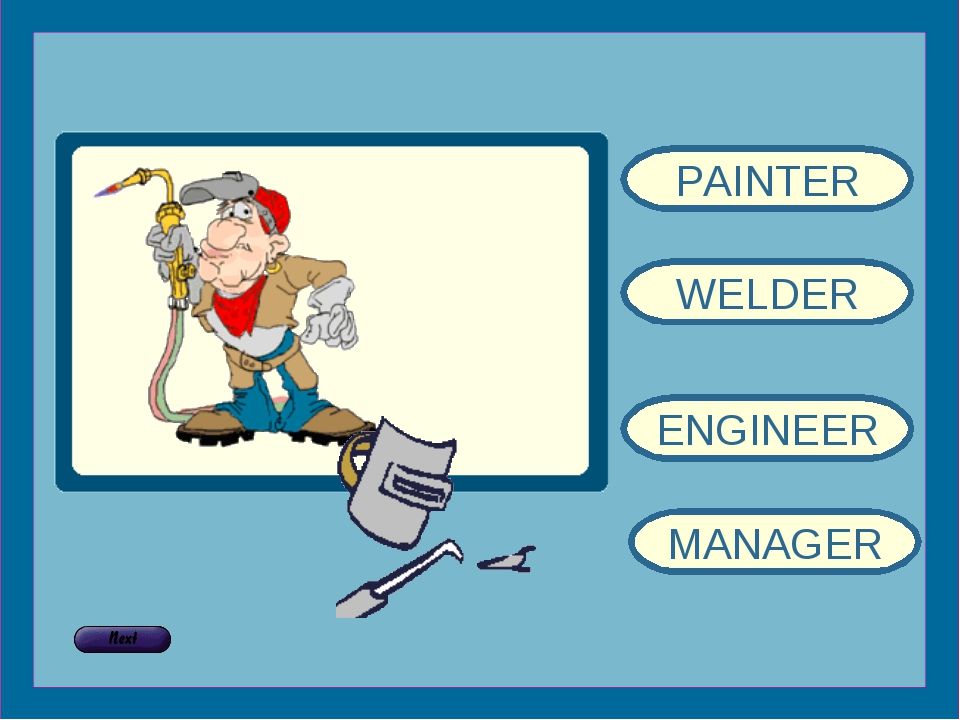PAINTER WELDER ENGINEER MANAGER