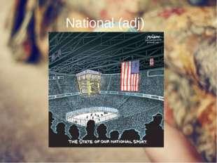 National (adj)