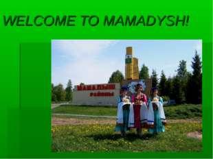 WELCOME TO MAMADYSH!