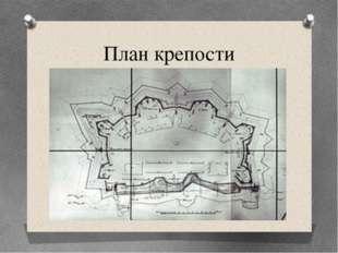 План крепости