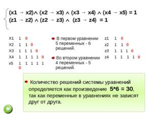 №4. Сколько существует различных наборов значений логических переменных, кото