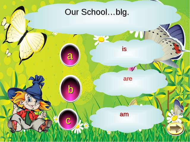 Our School…blg. a c b is are am