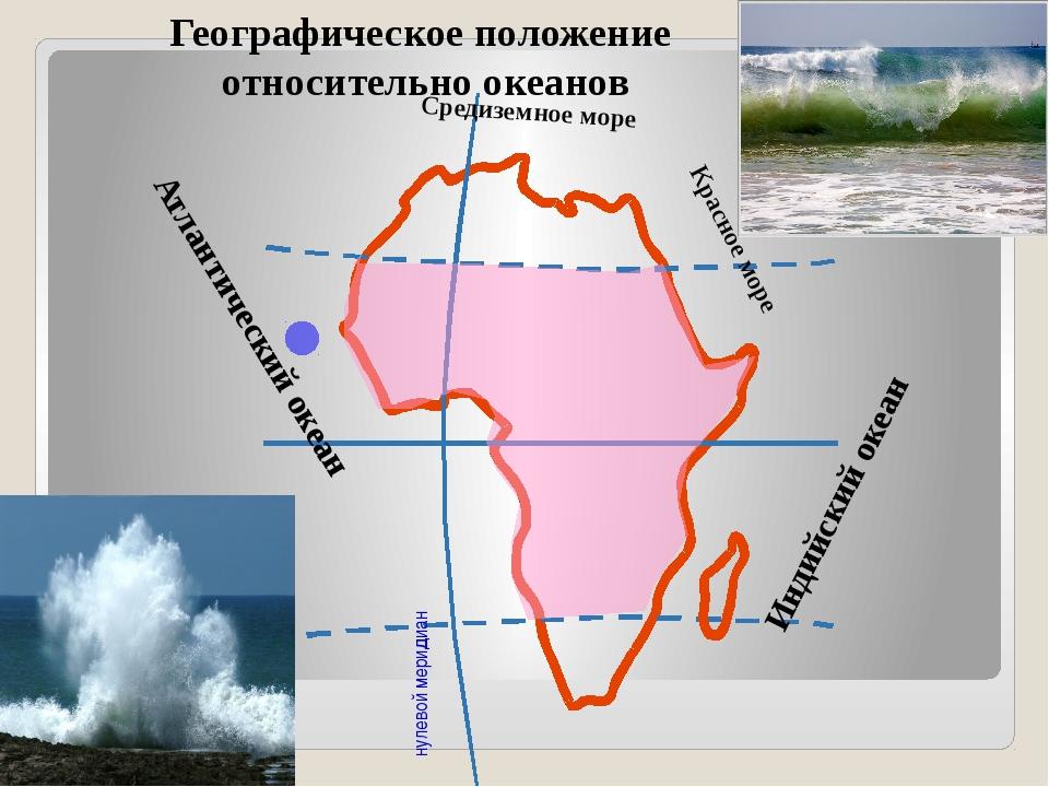 нулевой меридиан Географическое положение относительно океанов Атлантический...