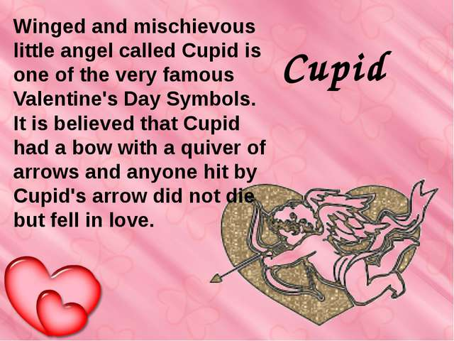 Cupid Winged and mischievous little angel called Cupid is one of the very fa...