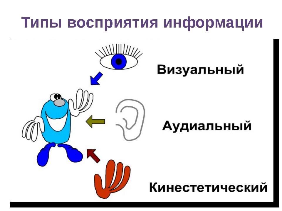 Типы восприятия информации