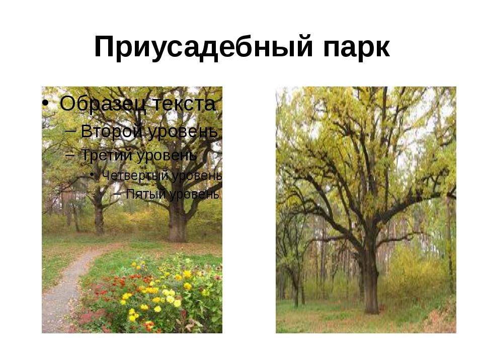 Приусадебный парк