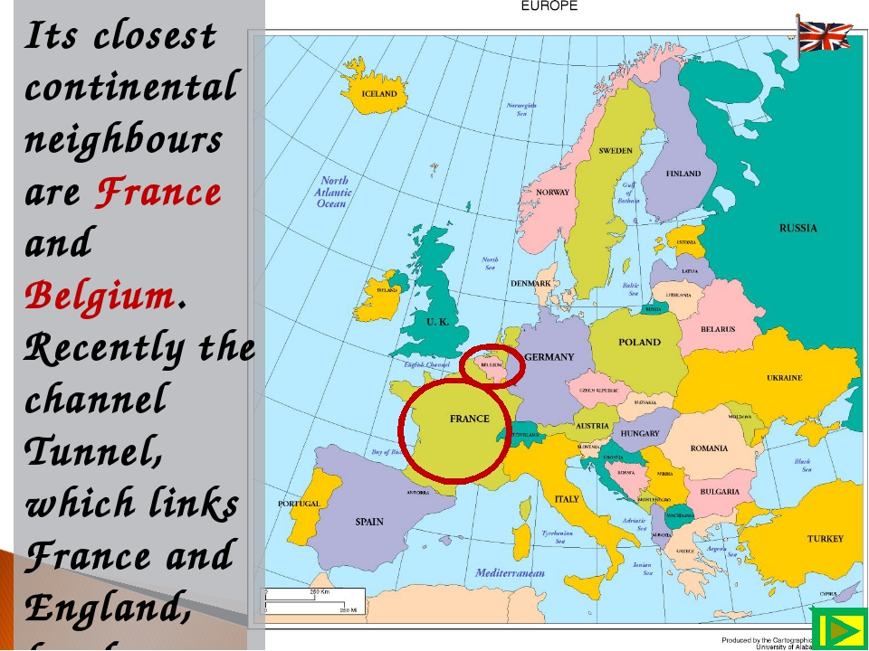 Its closest continental neighbours are France and Belgium. Recently the chann...