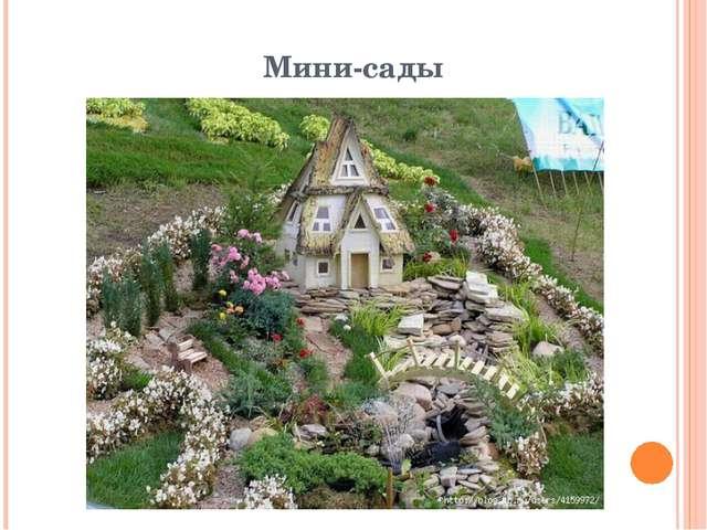 Мини-сады