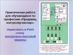Практическая работа для обучающихся по профессии «Продавец, контролер-кассир»