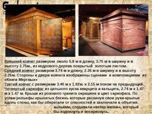 Пятый: внутри кварцевого саркофага находилсявнешний антропоидный гробиз дер