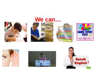 We can…