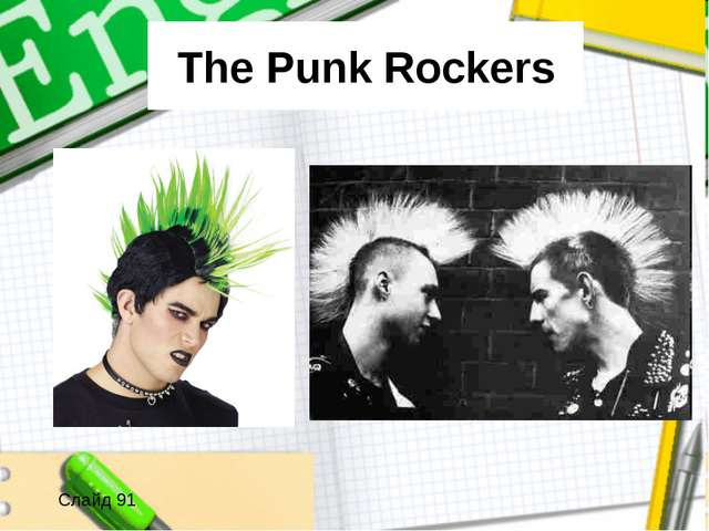 The Punk Rockers Слайд 91