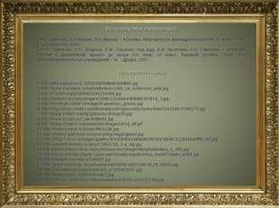 Используемая литература А.Т.Смирнов, Б.И.Мишин, В.А.Васнев – «Основы безопасн