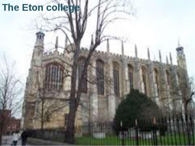 The Eton college