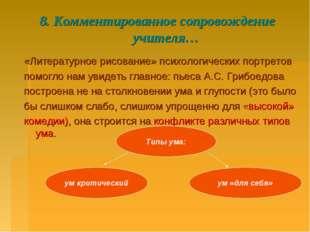 8. Комментированное сопровождение учителя… «Литературное рисование» психологи