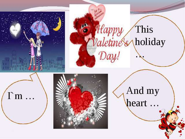 I`m … This holiday … And my heart …