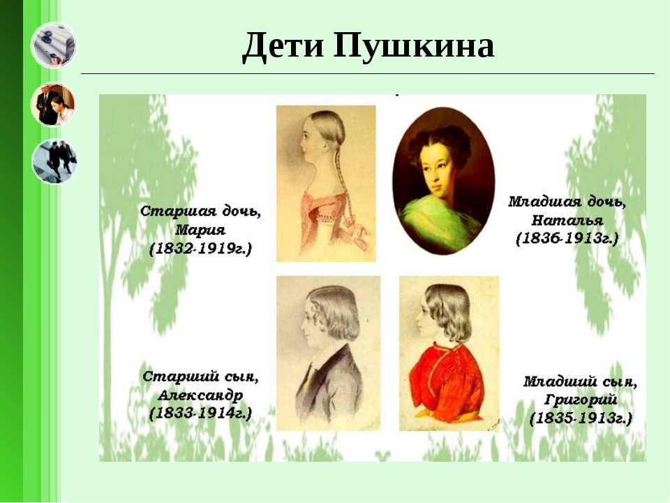 Дети Пушкина