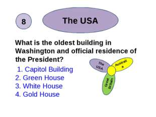 What is the oldest building in Washington and official residence of the Pres