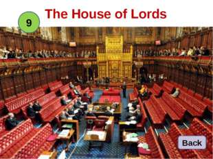 The House of Lords 9 Back