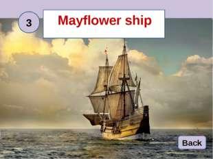 Mayflower ship 3 Back
