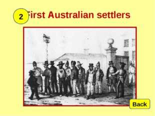 First Australiansettlers 2 Back