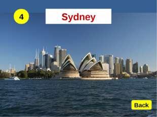 4 Back Sydney