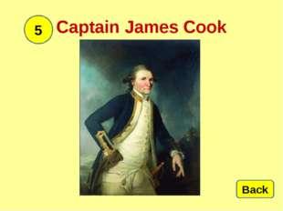 Captain James Cook 5 Back