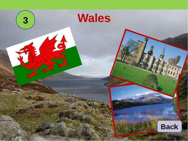 Wales 3 Back
