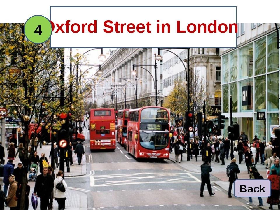 Oxford Street in London 4 Back
