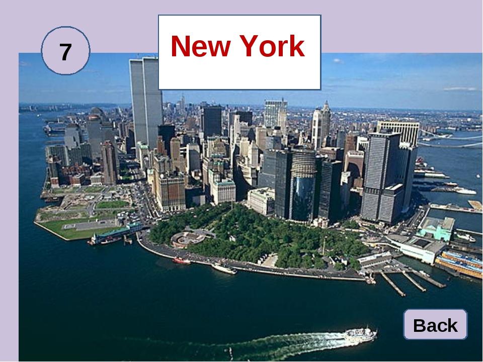 New York Back 7