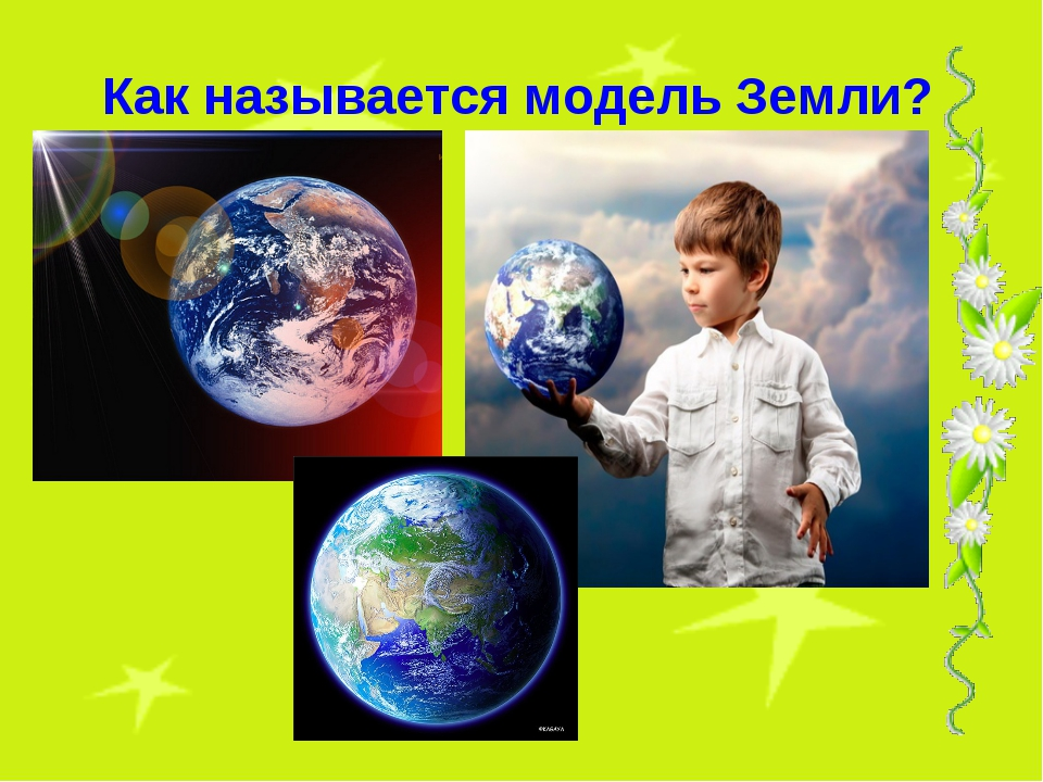 Как называется модель Земли?