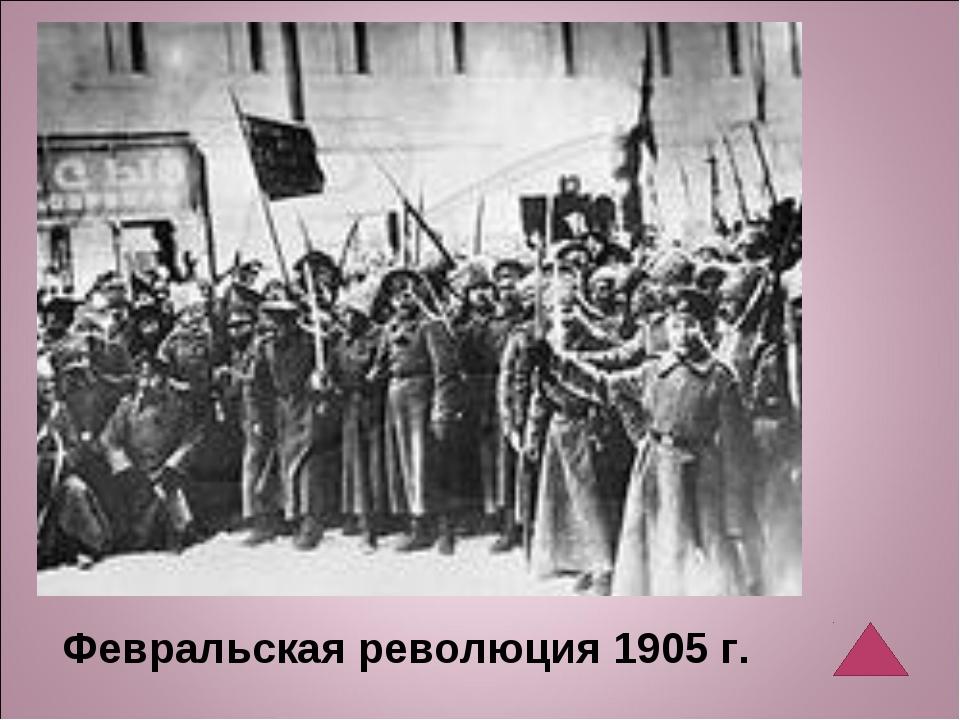 Февральская революция 1905 г.