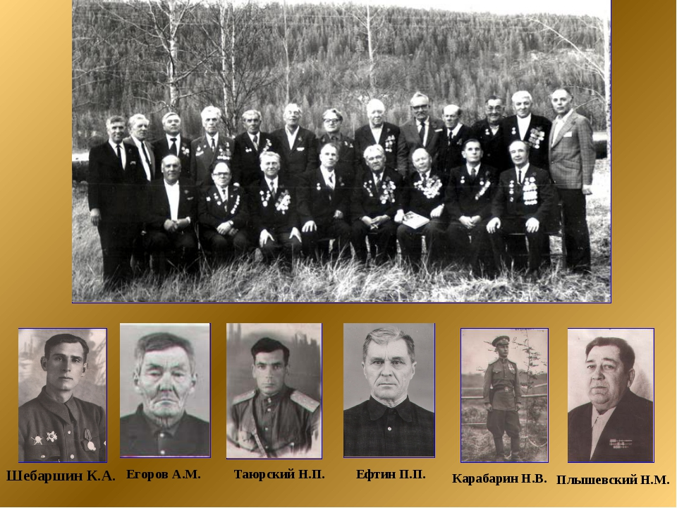 Карабарин Н.В. Ефтин П.П. Егоров А.М. Таюрский Н.П. Шебаршин К.А. Плышевский...