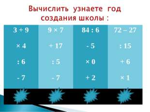 3 + 99 × 784 : 672 – 27 × 4+ 17- 5: 15 : 6: 5× 0+ 6 - 7- 7+ 2× 1