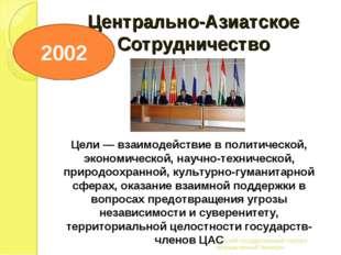 Центрально-Азиатское Сотрудничество Вятский государственный торгово-промышлен