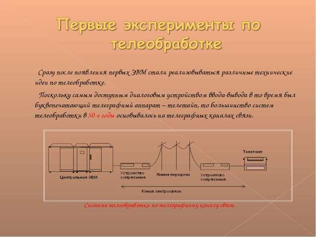 Сразу после появления первых ЭВМ стали реализовываться различные технические...