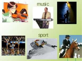 music sport