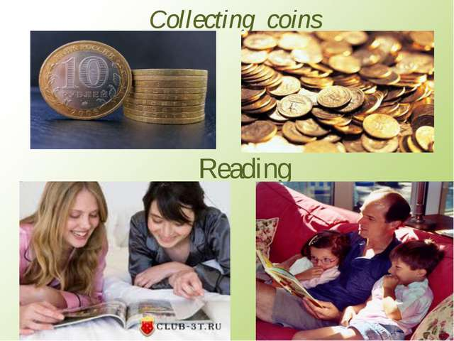 Collecting coins Reading