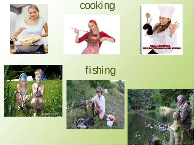 cooking fishing