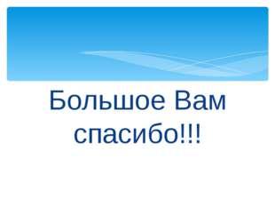 Большое Вам спасибо!!!
