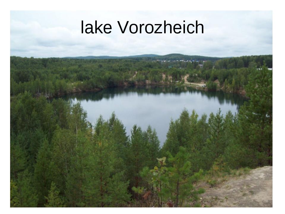 lake Vorozheich