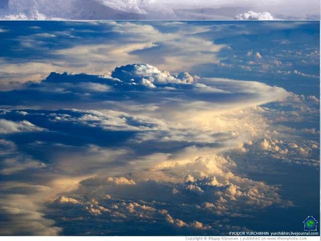 Облачность. Снимки из Космоса