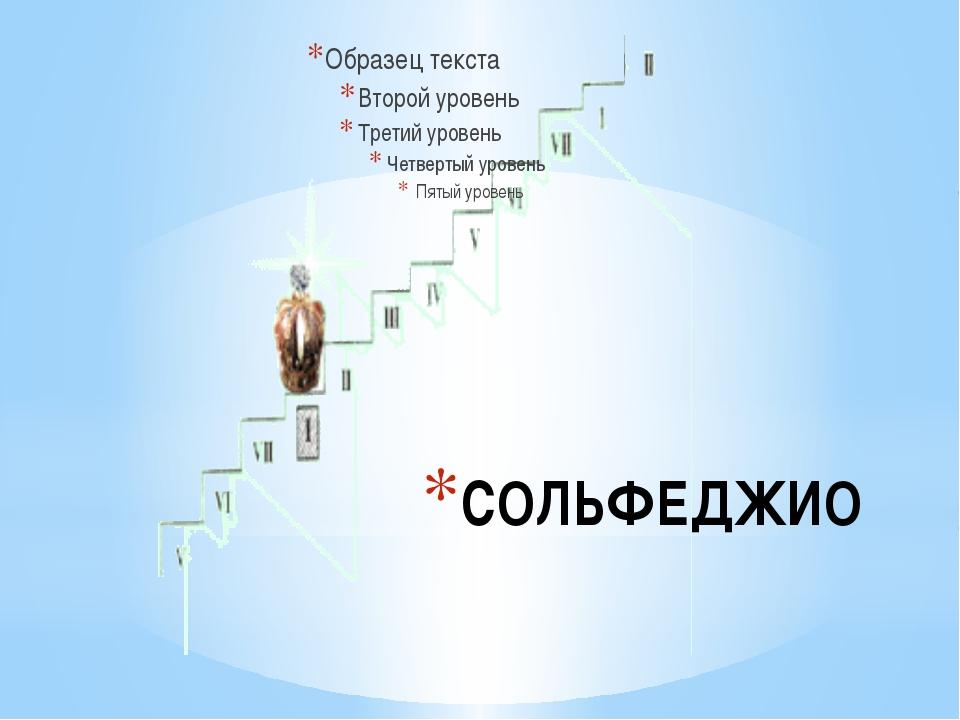СОЛЬФЕДЖИО