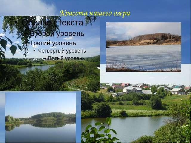 Красота нашего озера