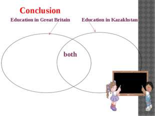 both Conclusion Education in Great Britain Education in Kazakhstan